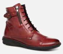 Medina 6402 Stiefeletten & Boots in rot