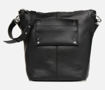 Hobo M Handtasche in schwarz