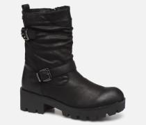 SAURO 58233 Stiefeletten & Boots in schwarz