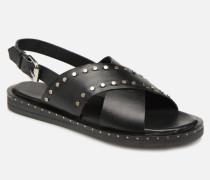 49034 Sandalen in schwarz