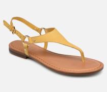 ELUBRYLLA Sandalen in gelb