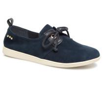 Stone One Suede Sneaker in blau