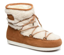 Far Side Low Shearling Sportschuhe in braun