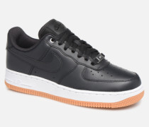 Wmns Air Force 1 '07 Prm Sneaker in schwarz