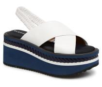 OMIN Sandalen in weiß