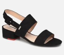 57932 Sandalen in schwarz