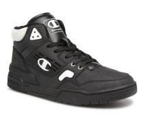 Mid Cut Shoe 3 ON PU Sneaker in schwarz