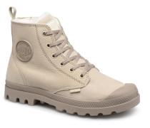 Pampa Hi Zip W Stiefeletten & Boots in beige
