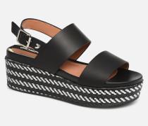 48567 Sandalen in schwarz