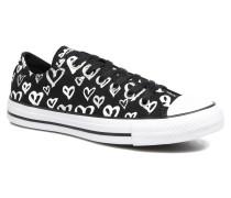 Chuck Taylor All Star Print Ox Sneaker in schwarz