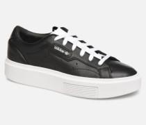 Adidas Sleek Super W Sneaker in schwarz