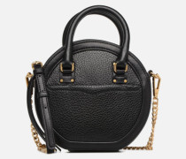 Bree Circle Crossbody Handtasche in schwarz
