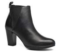 UBAK *Veau NOIR ~1ere.CUIR Stiefeletten & Boots in schwarz