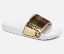 TOMMY SEQUINS POOL SLIDE Sandalen in mehrfarbig