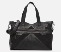 Ingrid leather daily bag Handtasche in schwarz