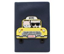 Passport Holder NYC Reisegepäck für Taschen in blau