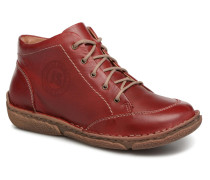 Neele 01 Schnürschuhe in rot