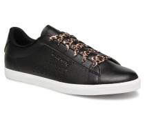 Agate Animal Sneaker in schwarz