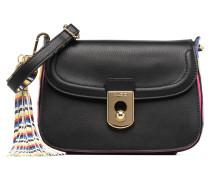 IBOREDE Handtasche in schwarz