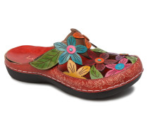 Billy 52 Clogs & Pantoletten in rot