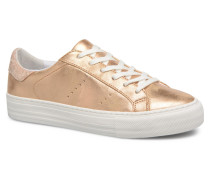 Arcade Sneaker Glow in goldinbronze