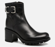 Justy 7 Small Gero Buckle Stiefeletten & Boots in schwarz