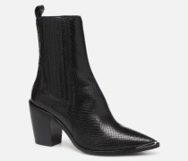 BASAMA Stiefeletten & Boots in schwarz