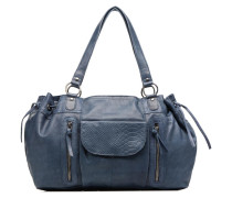 Jihano Leather Bag Handtasche in blau