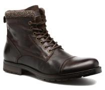 Jack & Jones JFWMARLY LEATHER Stiefeletten Boots in braun