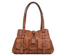 Bernadette Shoulder Bag Handtasche in braun