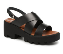 LUCERY Sandalen in schwarz