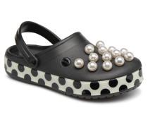 Crocband Timeless Clash Pearls Clog Clogs & Pantoletten in schwarz