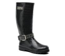 Roxane Stiefel in schwarz