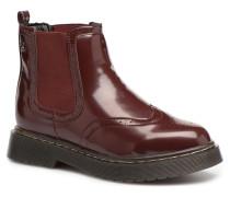 64025 Stiefeletten & Boots in weinrot