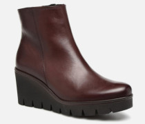 Capucine Stiefeletten & Boots in weinrot