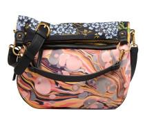 Folded Paraiso Handtasche in mehrfarbig