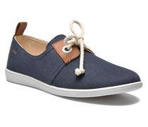 Stone One Twill W Sneaker in blau