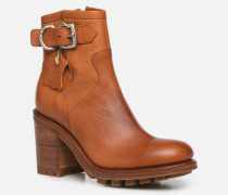 Justy 9 Small Gero Buckle Stiefeletten & Boots in braun