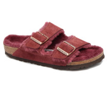 Arizona Sheepskin Hausschuhe in weinrot