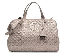 Gioia Girlfriend Satchel Handtasche in silber