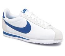 Classic Cortez Nylon Sneaker in weiß