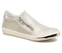 Slipon Sneaker in silber