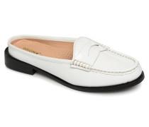 Bfrizox 66068 Clogs & Pantoletten in weiß