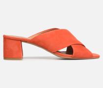 UrbAfrican Mules #4 Clogs & Pantoletten in orange