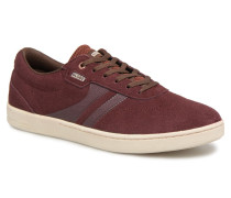 Empire Sneaker in weinrot