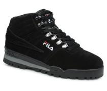 Fitness Hiker Mid Sneaker in schwarz
