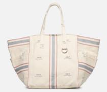MD SQ LDRY TOTE M Handtasche in weiß
