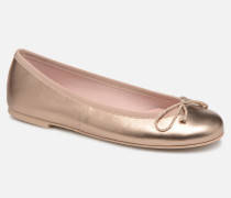 Rosario Ami Ballerinas in goldinbronze