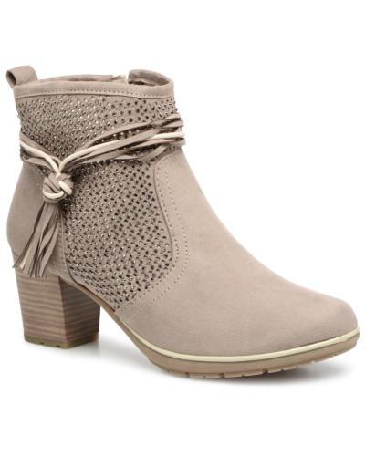 Jana Damen Paz Stiefeletten & Boots in beige Footlocker Bilder Verkauf Online Online Kaufen Mit Paypal B2K4g