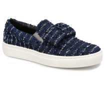 Kupsole Bow Slip On Sneaker in blau